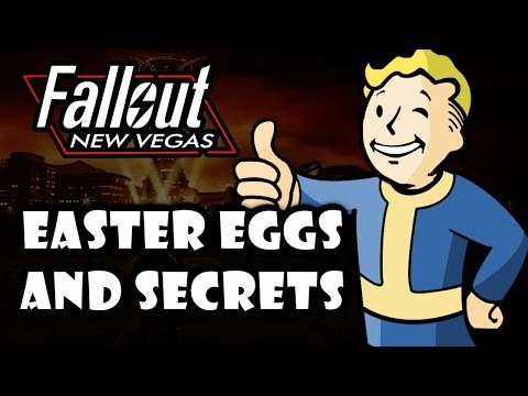 Fallout New Vegas Easter Eggs And Secrets HD