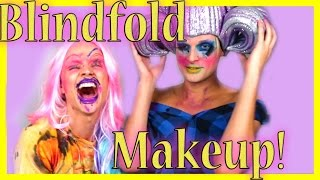 Blindfold Makeup Challenge (Drag edition) with Rhea Litré