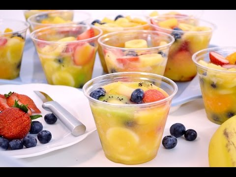 How to make fruit salad with jello pudding