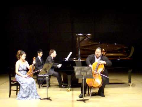 Brahms Piano Trio No.1 mov.3 (松本和将・上里はな子・向井航)