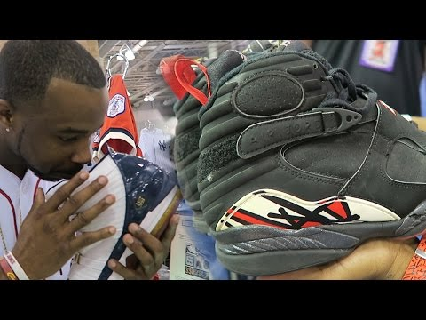 I Sniffed Lebron James And Michael Jordan Game Worn Exclusive Shoes! Worth $10,000+