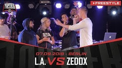 L.A. vs. ZEDOX - Takeover Freestylemania | Berlin 07.09.19 (VF 3/4)