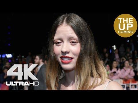 Mia Goth on Suspiria and Luca Guadagnino at London Film Festival premiere