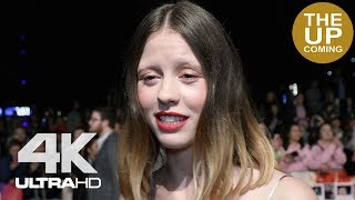 Mia Goth on Suspiria and Luca Guadagnino at London Film Festival premiere