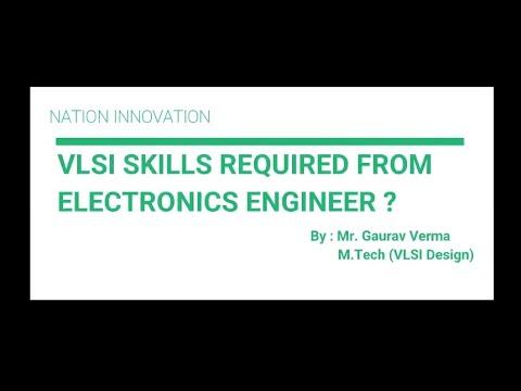 VLSI Skills For Core Job In Electronics   Nation Innovation