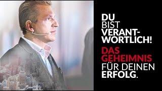 DU bist verantwortlich! - Motivationsvideo deutsch feat. Tobias Beck