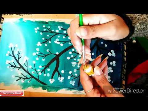 DIY Very Easy Beautiful Beginners Oil Painting/Easy Way To Make Oil Painting At Home/ #tulikajagga