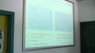 Theoretische Informatik Vorlesung Nr. 23