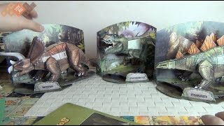 Динозавры 3D Пазл - сборная модель - Cubic Fun