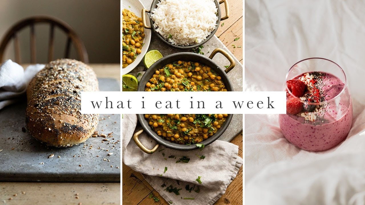 What I Eat In A Week | Vegan At Home During Lockdown