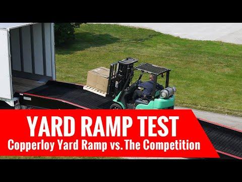 Yard Ramp Test: Copperloy Yard Ramp vs. Standard Industry Ramps