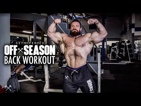 Off-Season Back Workout With Seth Feroce