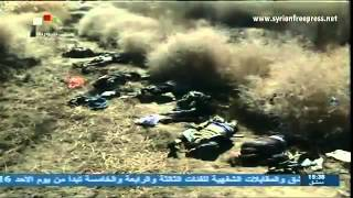 (Syria News-2.3.2014)Captured Terrorists admit leaders from Saudi Arabia & Gulf killed the ambush