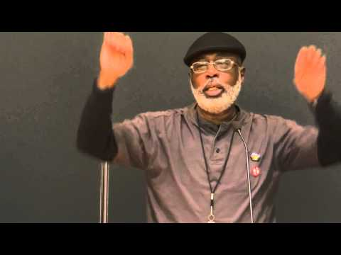 "Columbia U School of Social Work /CARL DIX & CORNEL WEST ""What kind of Person are YOU going to BE?"""