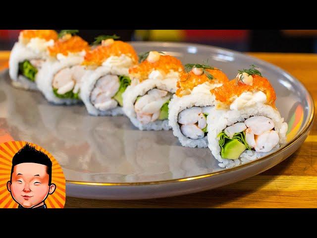Ролл с Раком | Sushi Crawfish
