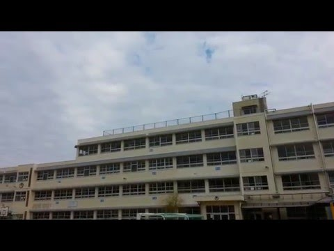 ☆癒し動画:Healing Video☆堺市立日置荘小学校と空:Sakai Municipal Hiki-sho School and the sky☆日置荘西町:Hikishonishi cho