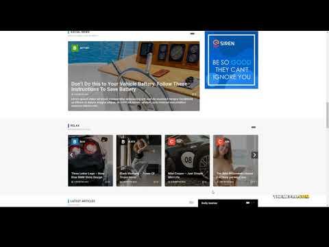 Anri - News Magazine Elementor WordPress Theme thumbnail