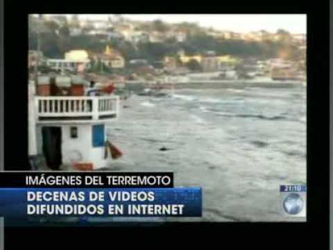 Reportaje Tele13 de Terremotos cameo de Rodrigo Ar...