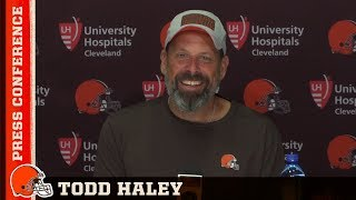Todd Haley: Our goal is to win and win a bunch | Browns Press Conference