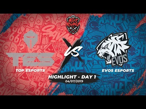 TES vs EVS _Highlights [Rift Rivals 2019] [04.07.2019] [Day 1]