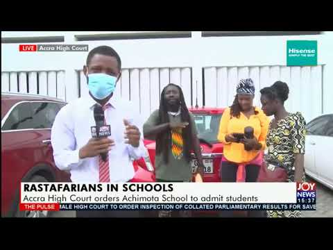 Rastafarians jubilant over Accra High Court's ruling  on Achimota School Case | 31 May 2021