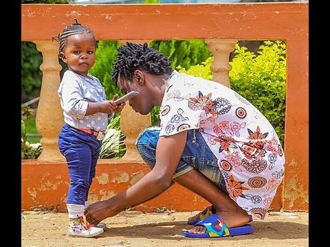 Video: Gospel Artist Bahati Spending Time with his Daughter in His House. Cutest Father Ever