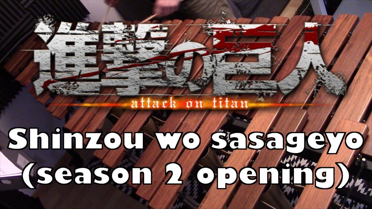 Attack on Titan OP 3 - marimba cover - YouTube