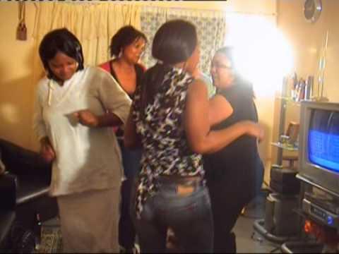 Ambiance congolaise, arrive jeanne Malomi a capetown part4