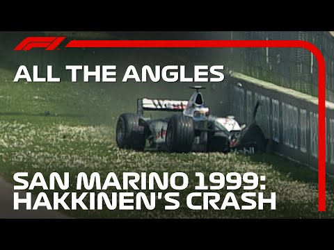 Hakkinen Smashes Out Of The Lead: All the Angles | 1999 San Marino Grand Prix