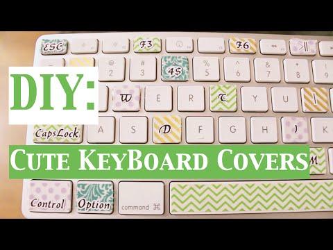 DIY   Cute Keyboard Covers!