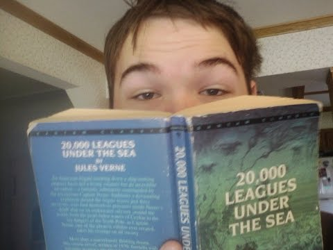 Book Shelf: 20,000 Leagues Under The Sea by Jules Vernes