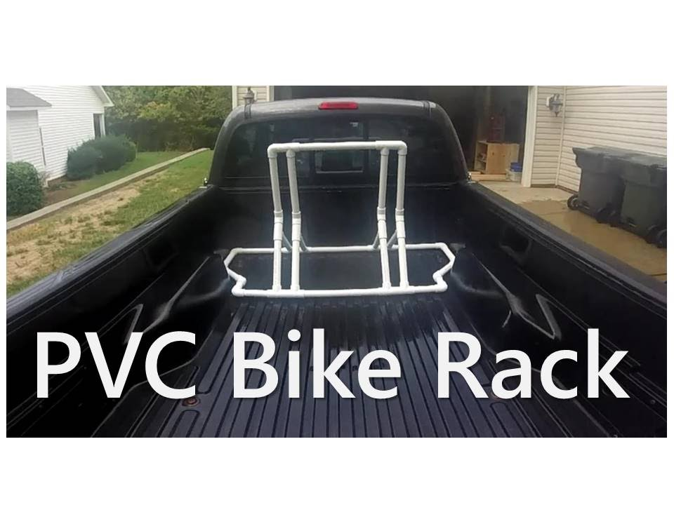 PVC Bike Rack - Truck Bed or Stand Alone - YouTube