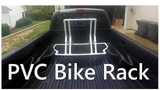 Pvc Bike Rack - Truck Bed Or Stand Alone