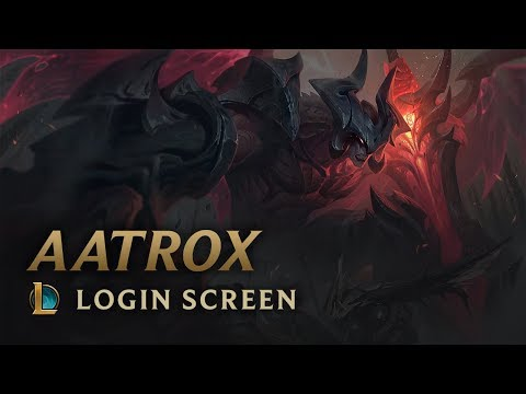 Aatrox, the Darkin Blade | Login Screen - League of Legends