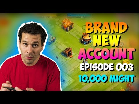 NEW ACCOUNT Episode 3: Reaching 10,000 Might