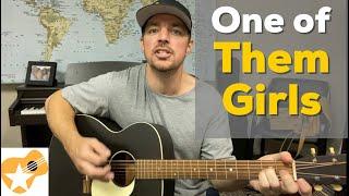 One of Them Girls | Lee Brice | Beginner Guitar Lesson