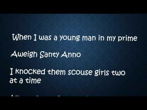 Santy Anno sea shanties lyrics