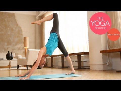 Flexibility Flow Routine   Advanced Yoga With Tara Stiles
