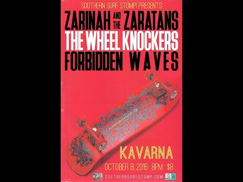 Southern Surf Stomp! w/ Zarinah & the Zaratans, The Wheel Knockers, Forbidden Waves 10/8/16