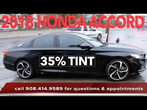 2018 honda accord touring grey. Tinting A 2018 Honda Accord In 35% Tint (winning Window Tints) Touring Grey