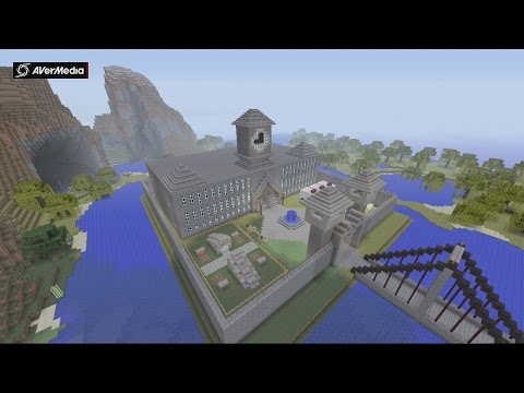 Minecraft Gotham City: Arkham Asylum