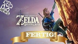 Zelda: Breath of the Wild ist fertig! - Nerd News #86