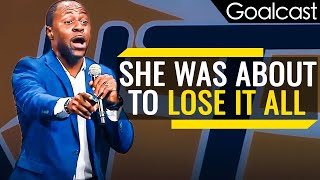 Why You Should Never Give Up | Andy Henriquez Speech | Goalcast