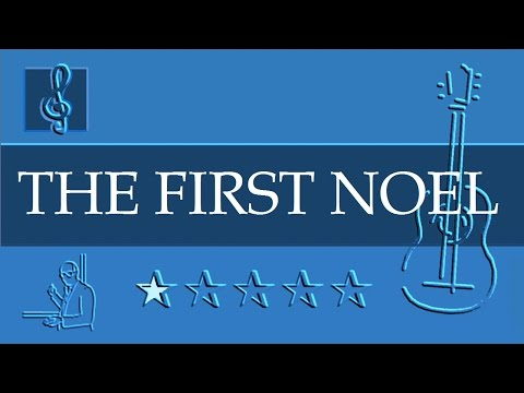 Acoustic Guitar TAB - Christmas Song - The First Noel (Sheet music)