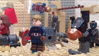 Avengers Age of Ultron final battle lego recreation stopmotion shot for shot
