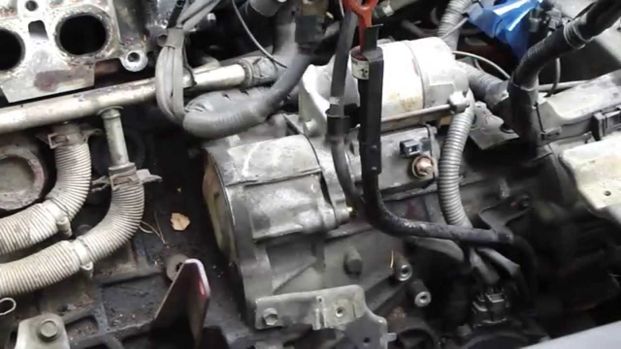 how to replace starter and start motor toyota camry 2 2 liter engine years 1991 to 2002 youtube [ 1280 x 720 Pixel ]