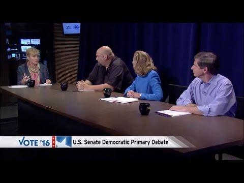 Race for the Senate: Democratic Candidate Debate