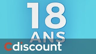 Cdiscount a 18 ans !