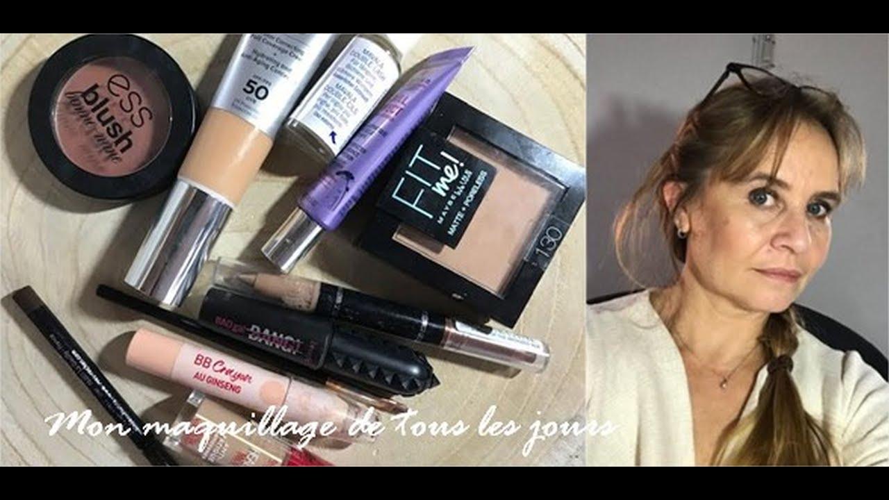 Mon maquillage de tous les jours (même pendant le confinement)