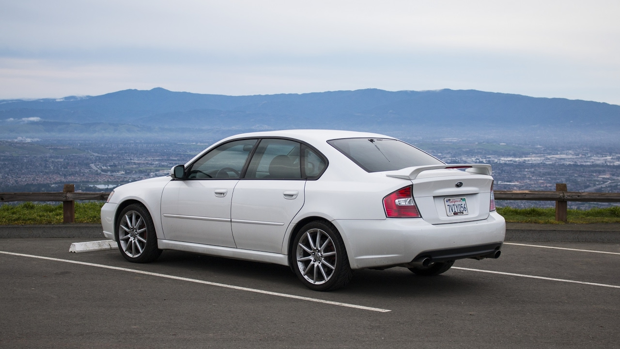 2005 legacy gt review subaru s sleeper sedan